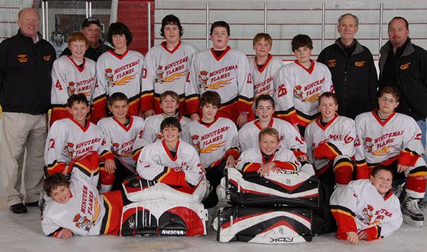 Peewee Major Minuteman Flames Aaa Hockey Team